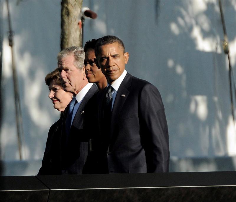 Nueva York guarda primer minuto de silencio en el décimo aniversario del 11-S
