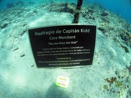 Limpiarán buque del legendario y temido capitán Kidd en aguas dominicanas