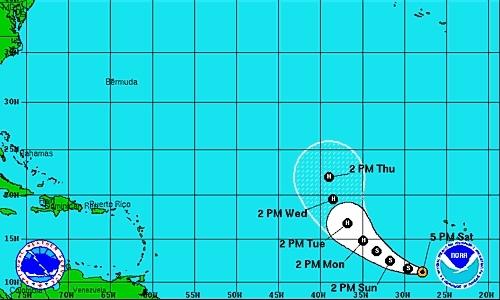 Nace la tormenta tropical