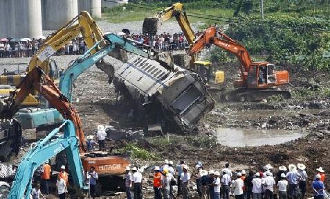 Ya son 284 los heridos, 20 en estado crítico, por choque en Metro de Shanghai