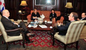 Morales Troncoso se reúne con Director General Adjunto de la Comisión Europea