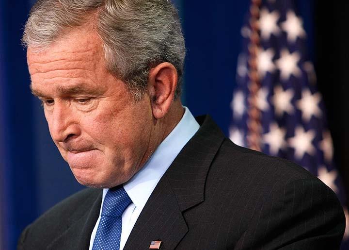 George W. Bush dice el mundo está mejor sin Sadam Hussein