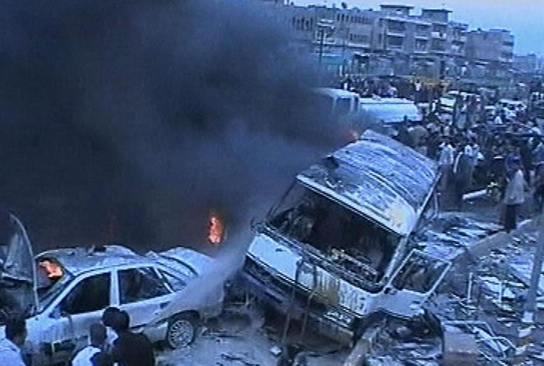 Al menos 30 muertos y 55 heridos por atentados en Damasco, según Al Manar