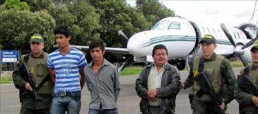 Detienen a guerrillero de las FARC por el secuestro de una niña colombiana