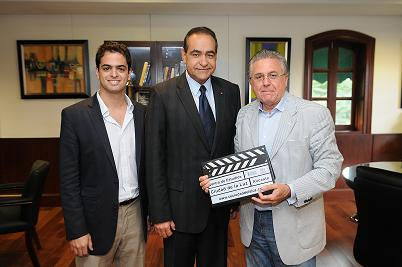 Director de Cine Español propone convenio con UNIBE para fortalecer formación de actores y cineastas