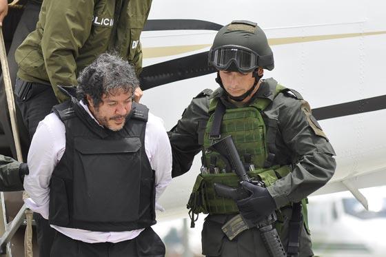 Extraditado a EE.UU. narcotraficante colombiano