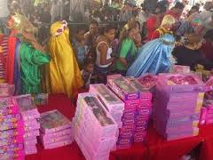 PN entrega miles de juguetes a hijos de agentes policiales
