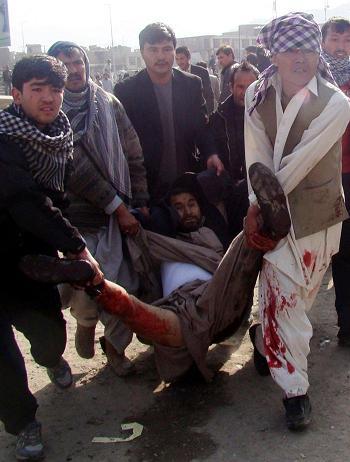 Al menos 53 muertos en dos ataques contra chiíes en Afganistán