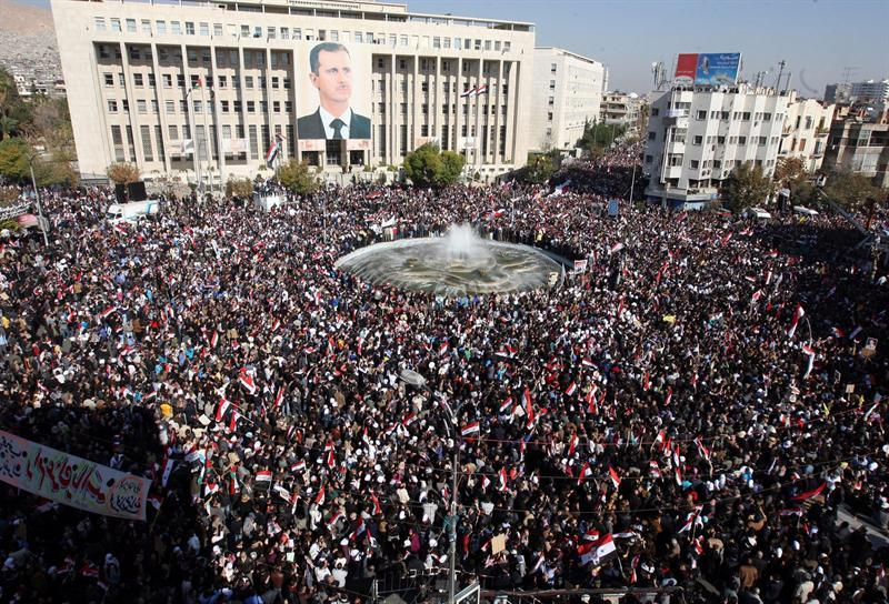 ONU urge a la comunidad mundial a actuar para detener la represión en Siria