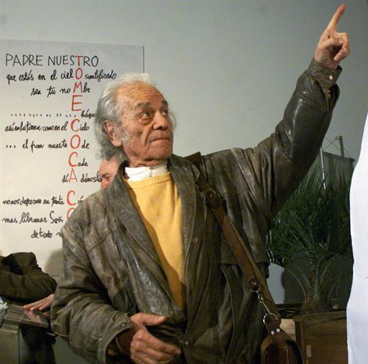 El poeta chileno Nicanor Parra, Premio Cervantes 2011