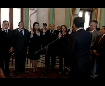 Presidente Fernández juramenta nuevos jueces de las Altas Cortes