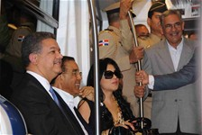 Presidente Fernández supervisa trabajos en segunda línea del Metro