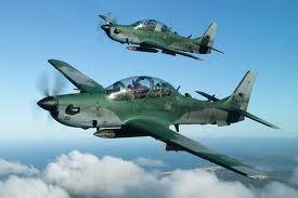 Fuerza Aérea de EE.UU. adquiere 20 aviones Súper Tucano a la brasileña Embraer