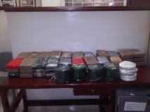 Incautan supuestamente 70 kilos de cocaína en Caucedo