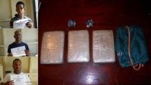 Desmantelan banda de tumbadores de cocaína falsa en Higüey