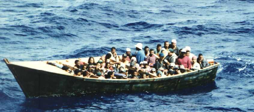 Detienen 40 personas que iban supuestamente en yola a Puerto Rico