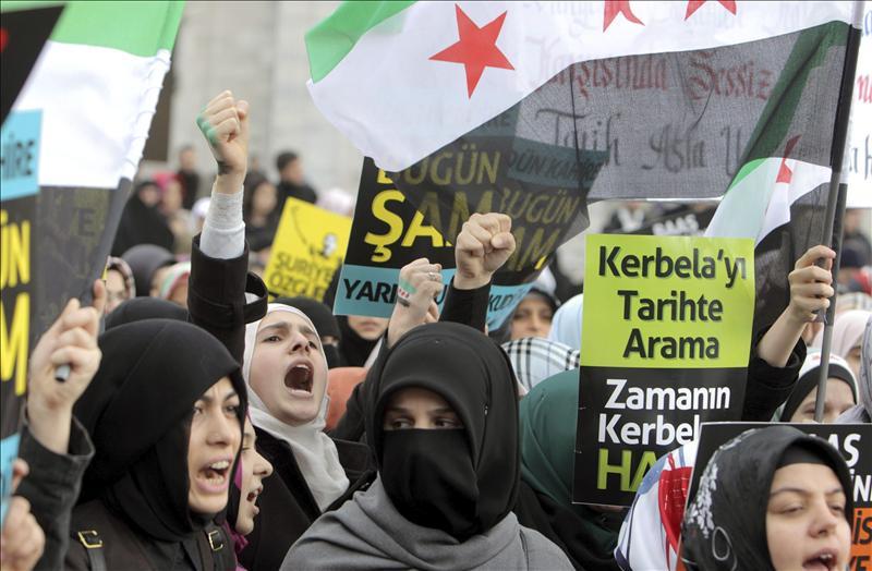 Al menos diez personas mueren en una nueva ofensiva del régimen sirio