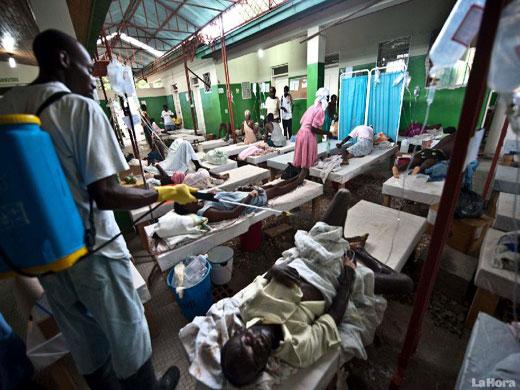 Piden reforzar inversión en Haití para evitar que el cólera sea endémico