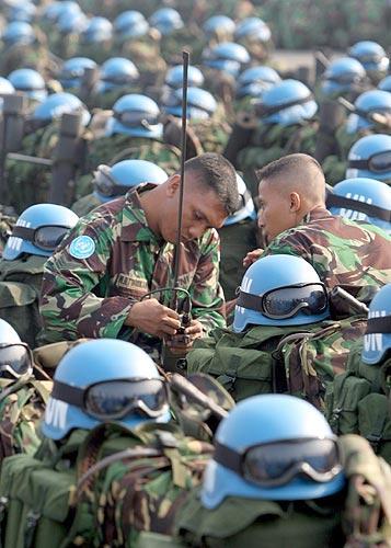 Parte a Haití nuevo contingente peruano de cascos azules en misión de la ONU