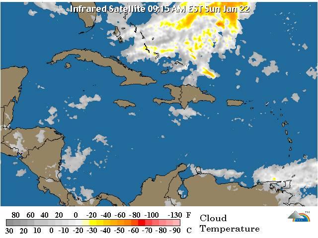 Se esperan lluvias por vaguada sobre el país