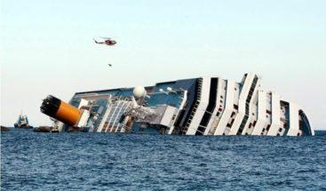 Avanzan en enderezar al Costa Concordia