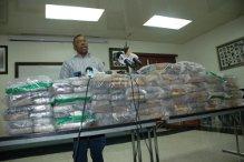 Nueve de los 204 paquetes de cocaína incautada en Caucedo arrojaron resultado negativo