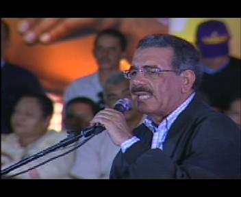 Danilo Medina: cuando gane la presidencia eliminare los impuestos al sector agropecuario