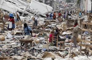Superviviente de sismo: