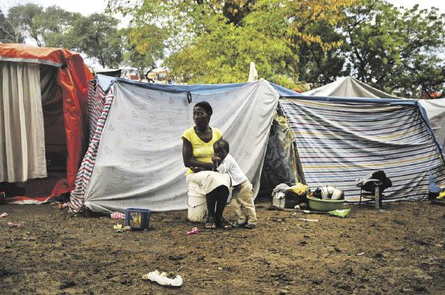 Dos años después del sismo, 500,000 personas aún siguen sin hogar en Haití