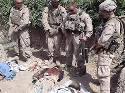 La OTAN promete castigar a los responsables de la profanación de cadáveres