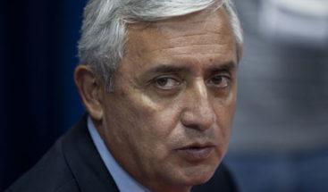 Juez decidirá el futuro del expresidente Pérez Molina el 8 de septiembre