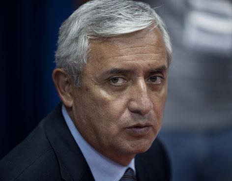 Pérez Molina pedirá a CELAC que investigue la persecución política que sufre
