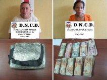 DNCD decomisa cocaína y más de RD$ 200 mil pesos en efectivo en Santiago