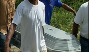 Sepultan restos de adolescente involucrado en muerte de Amet