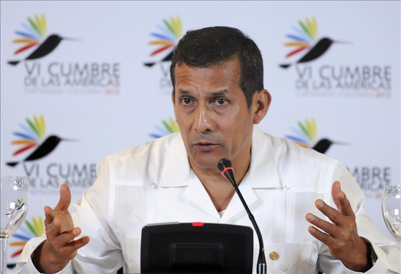 Humala afirma que Fujimori fue