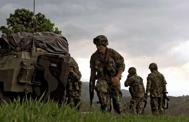 Ataque de FARC contra tropa militar deja heridos a un niño y seis adultos
