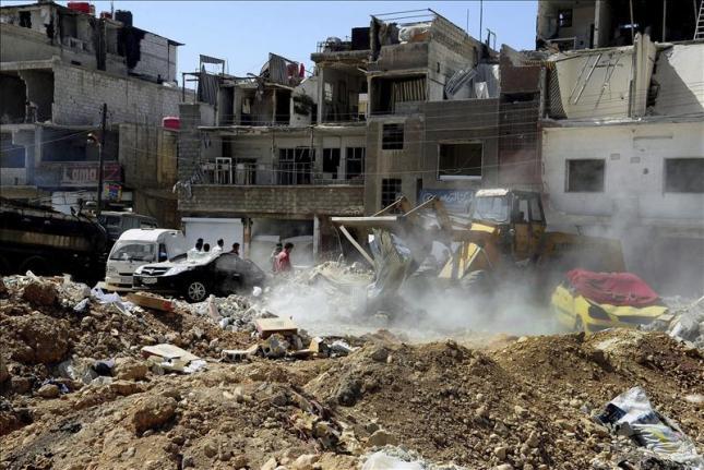 Un grupo radical reivindica el atentado de Damasco que causó 55 muertos