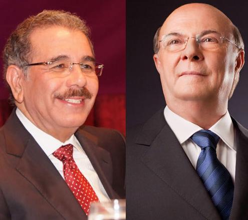 Danilo Medina ganaría en primera vuelta con 52% frente a un 43 de Hipólito, según  Hamilton Campaigns