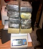 Ocupan 11 kilos cocaína serían enviados a Estados Unidos por el AILA