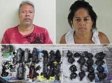 Detienen pareja pretendería llevar cocaína a PR en motor de vehículo