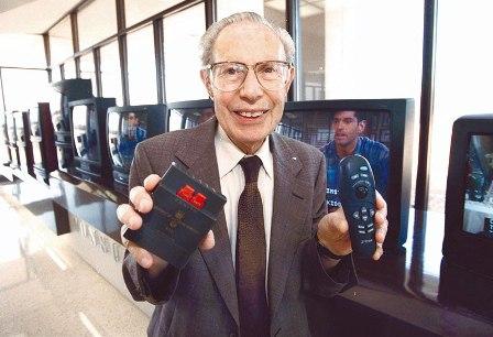 Fallece el inventor del primer control remoto de televisión