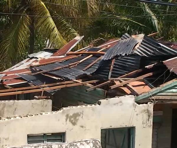 Ventarrón afecta más de 400 viviendas en Navarrete