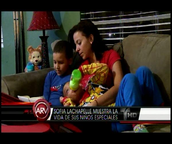 La periodista Sofía Lachapel comparte el ser madre de niños especiales