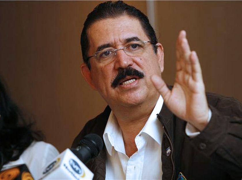 Zelaya dice que delitos cometidos tras el golpe en su contra