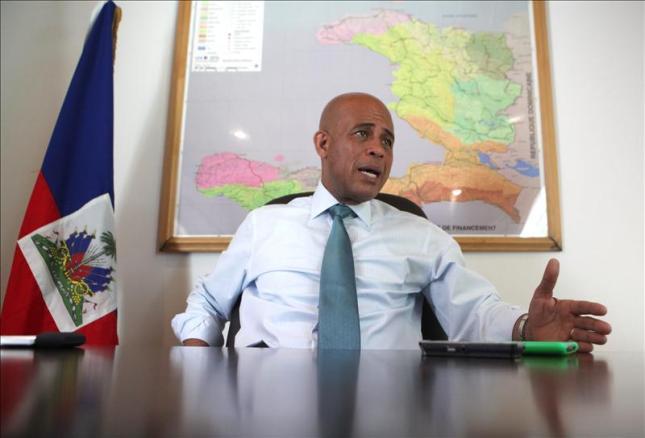 El presidente de Haití destaca los logros de su primer año en el poder