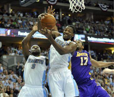 Lawson y los Nuggets jugaron mejor como equipo que los Lakers