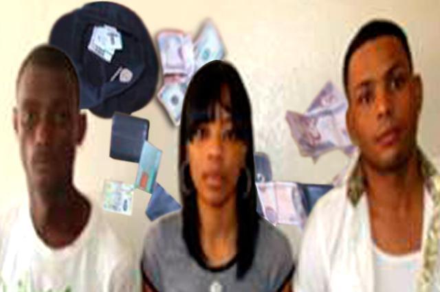 Apresan tres personas y les ocupan dinero falso en Cotuí