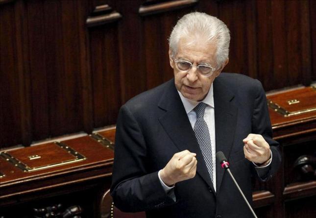 Miles de personas piden en Roma un cambio en la política económica de Monti