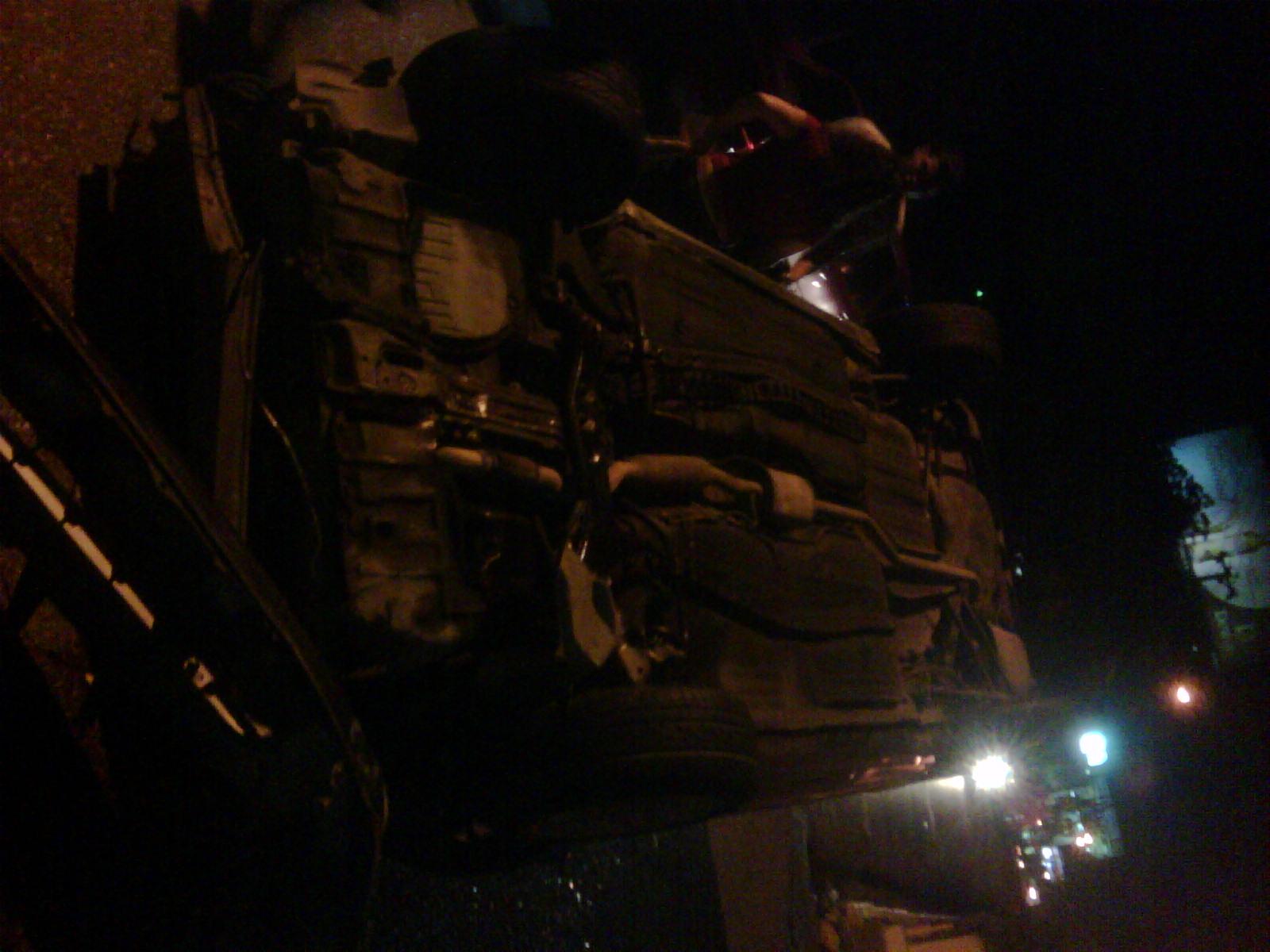 Atienden en el Darío Contreras dos personas accidentadas en la Avenida Abraham Lincoln