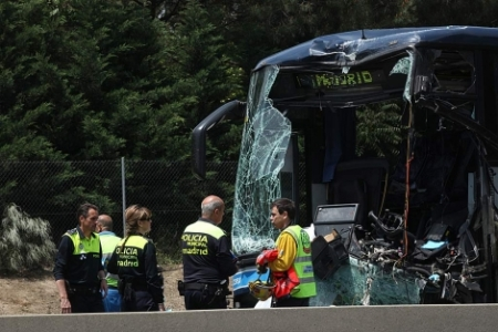 Al menos siete muertos por un accidente de un autobús en el sur de Brasil